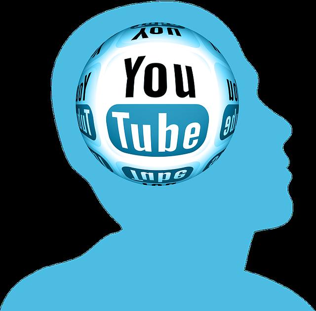 youtube v hlavě