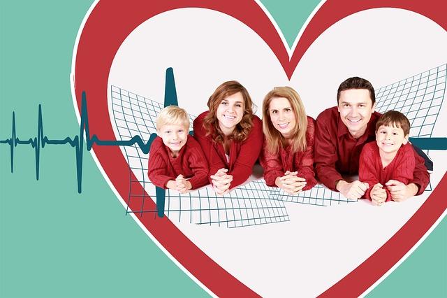 srdce rodiny