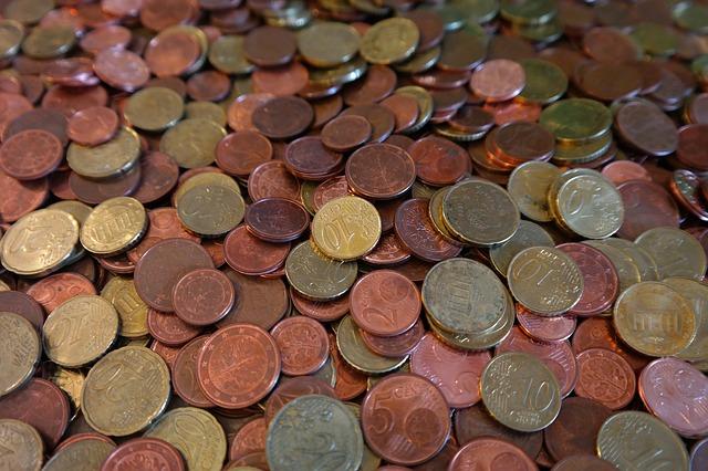 mnoho mincí