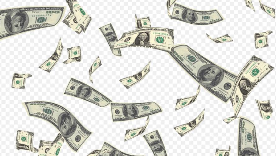 létající peníze